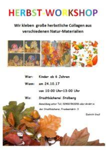 Herbst-Workshop