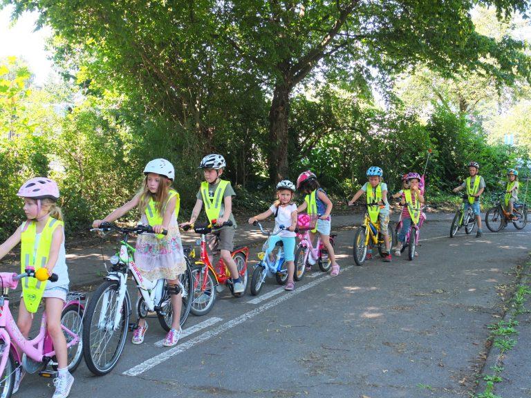 Rad Schulen Fahrradtraining
