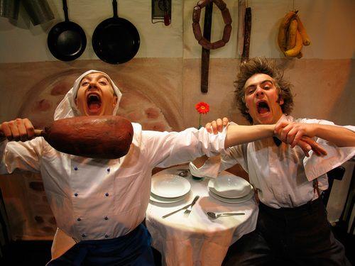 Der furiose Küchenzirkus