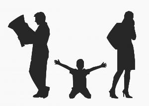getrennte Eltern