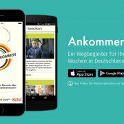 """Ankommen"" - App"