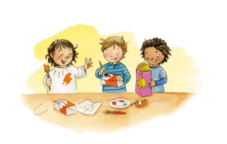 Martinsaktion 2021 - Martinsmaterial des Kindermissionswerks
