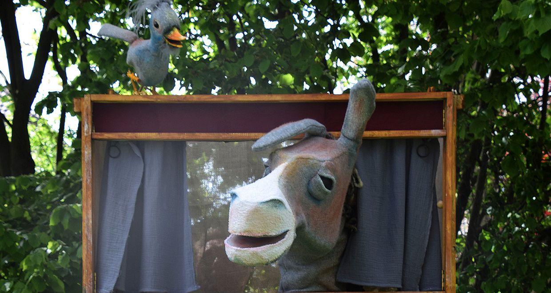 Frankenburg: Figurentheater Rosenfisch - Kuckuck & Esel