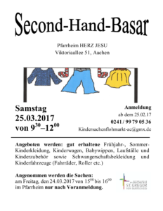 Second-Hand-Basar