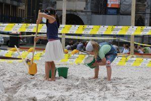 Archimedischer Sandkasten