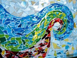 Glas-Mosaik