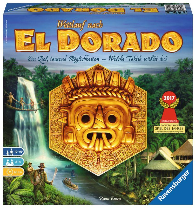 Knizia: Wettlauf nach El Dorado - Strategiespiel