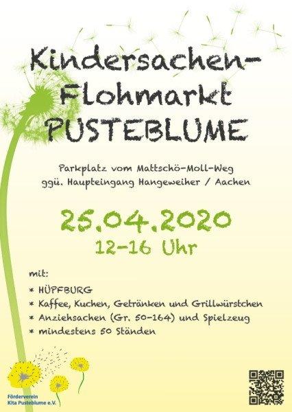 Kita Pusteblume Kindersachenflohmarkt Aachen