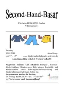 Second-Hand-Basar