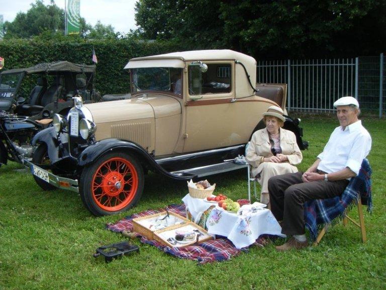 Oldtimer-Picknick