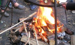 Feuer - Flamme - Aktion