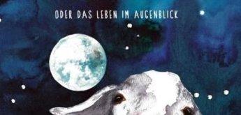 Ziege auf dem Mond