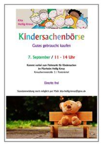 Kindersachenbörse