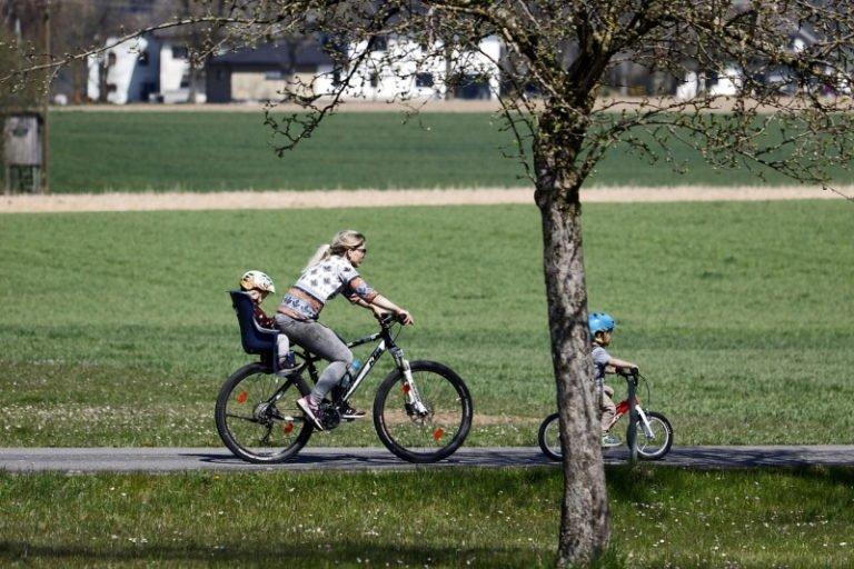Fahrrad in Aachen Radtouren mit Kindern