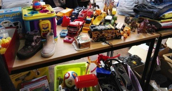 Kindertrödelmarkt Fronleichnam