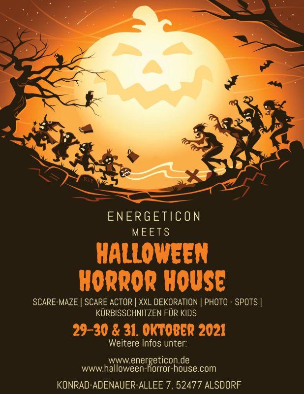 Halloween Horror House Alsdorf meets Energeticon