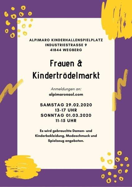 Frauentrödelmarkt Kindertrödelmarkt