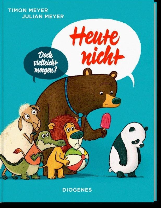 Heute nicht Meyer Bilderbuch Kinderbuch