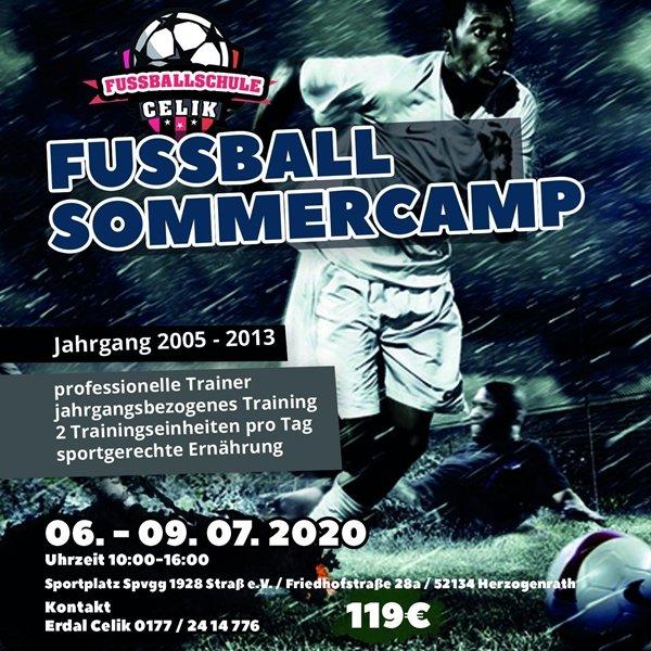 Fußball Sommercamp
