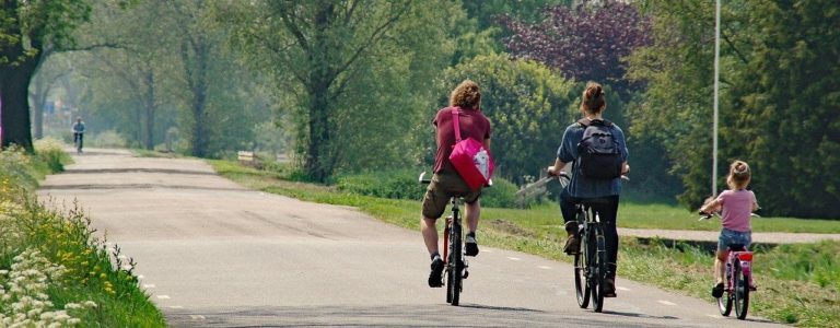 Aachen Radtouren mit Kindern