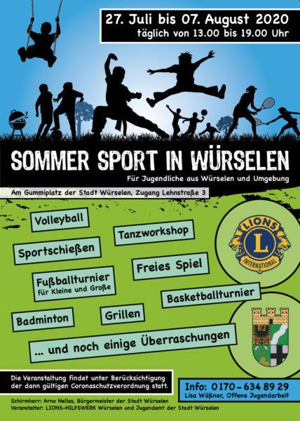Sommersport Würselen