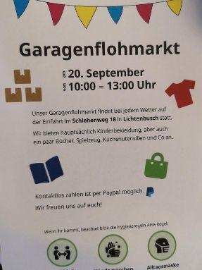 Garagenflohmarkt Lichtenbusch