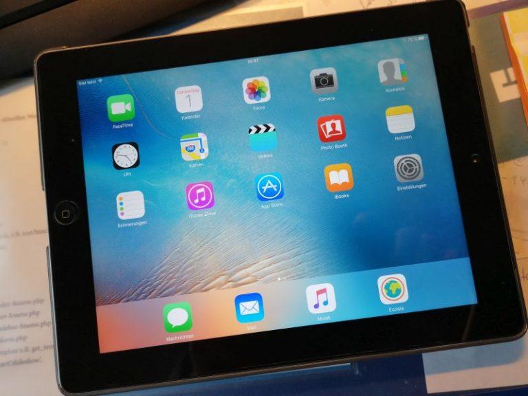 Tablet iPad Aachen