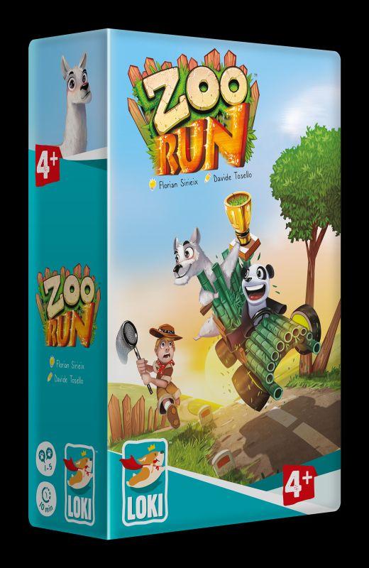 Kinderspiel des Jahres Zoo run