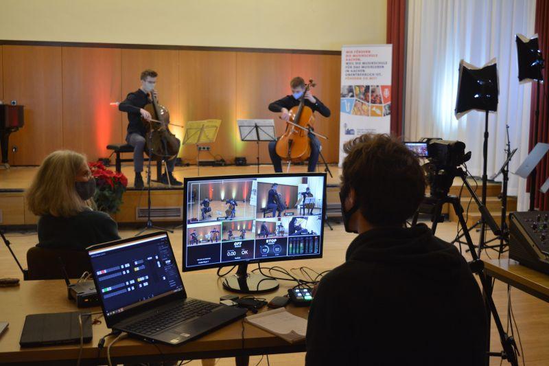 Digitales Weihnachtskonzert der Musikschule