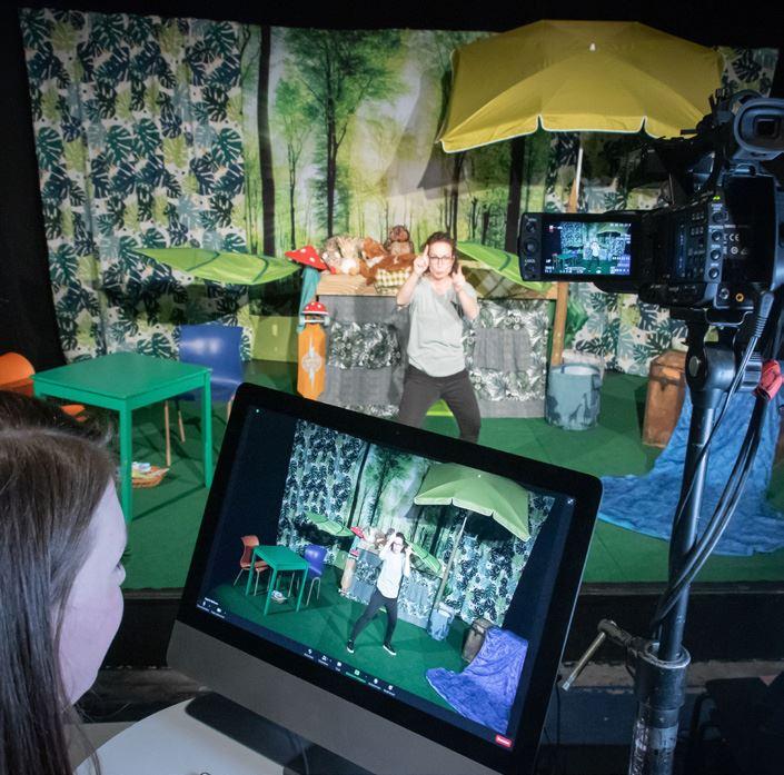 Kindertheater DAS DA plus – Der digitale Mitmachworkshop