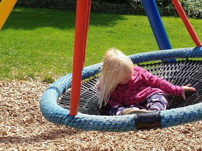 Ferienspiele auf dem Spielplatz