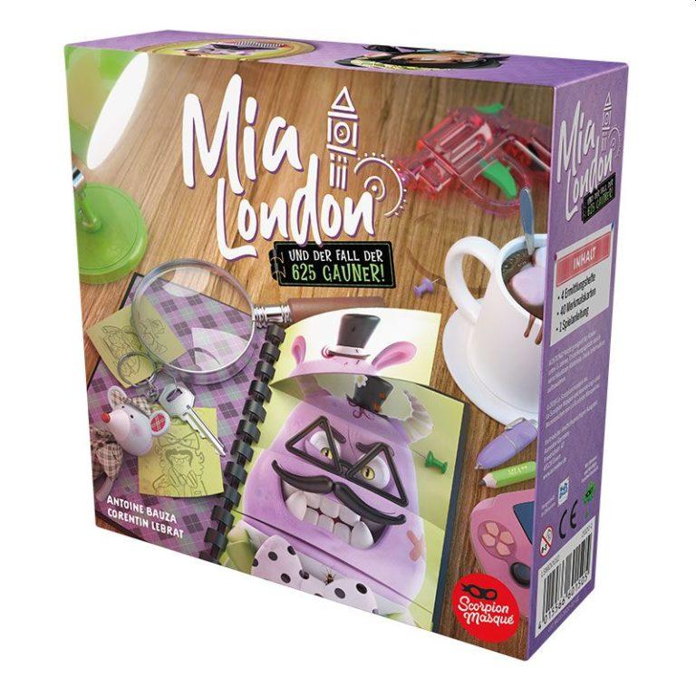 Mia London - Nominiert zum Kinderspiel des Jahres 2021