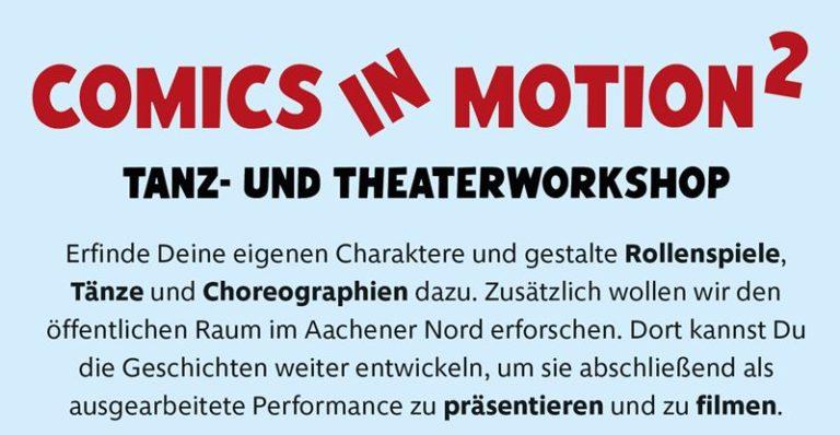 Tanz- und Theaterworkshop (Comics in Motion)
