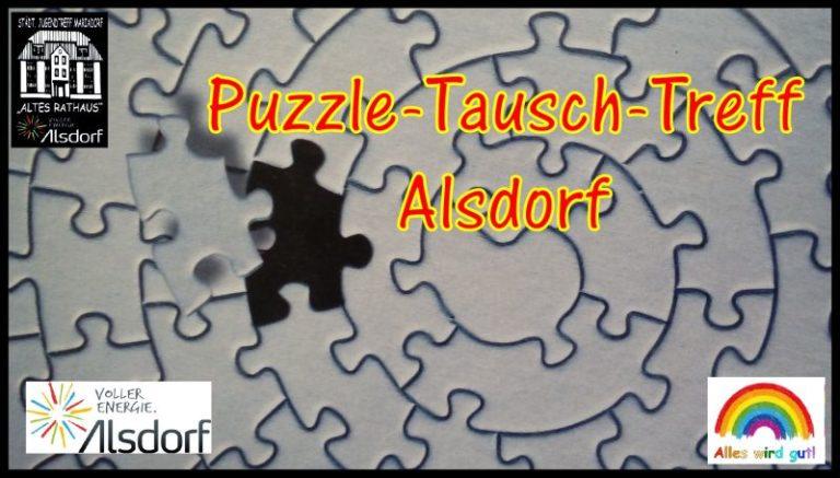 Puzzle-Tausch-Treff-Alsdorf, Altes Rathaus