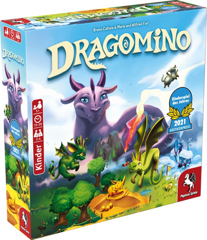 Dragomino - Kinderspiel des Jahres 2021 (Pegasus Spiele)