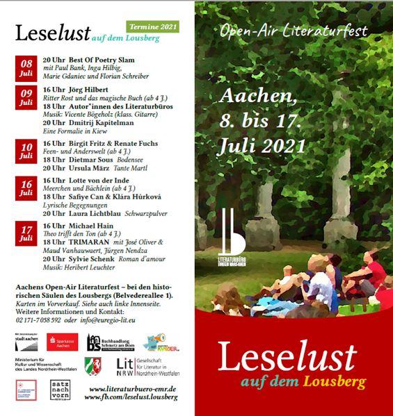 Kinderleselust 2021 in Aachen