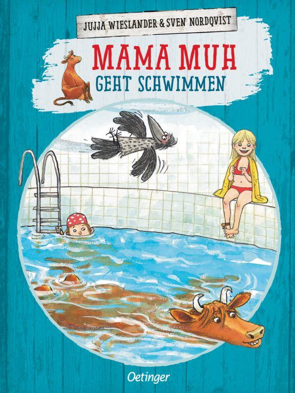 Mamma Muh geht schwimmen