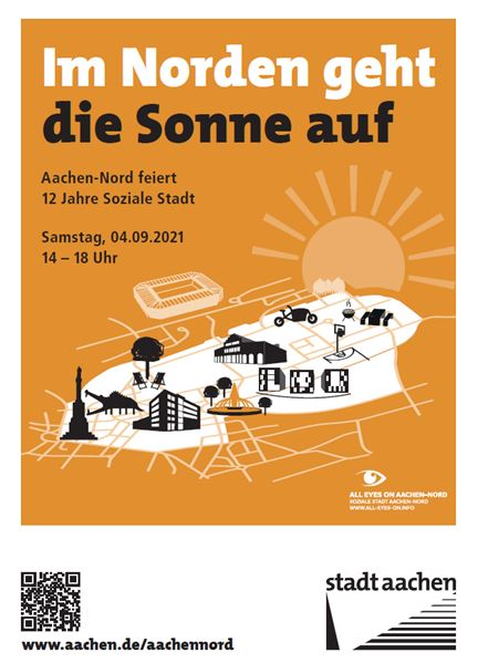 Soziale Stadt Aachen-Nord: Zum Abschluss gibt es ein buntes Programm