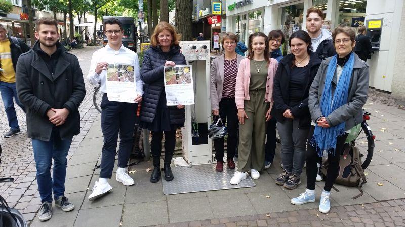 """""""FahrRad in Aachen"""": Vier weiterführende Schulen beteiligen sich an Fahrrad-Wettbewerb bis Ende November 2021"""